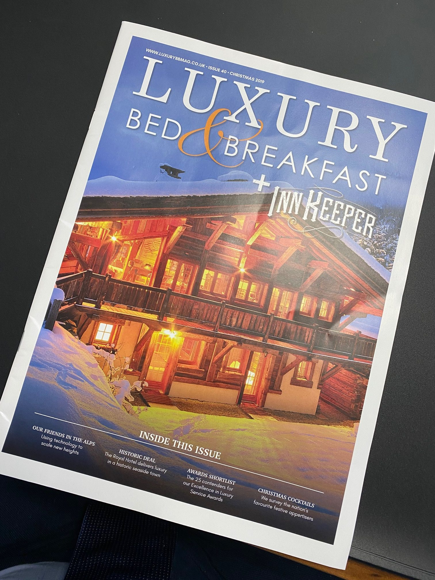 Luxury Bed & Breakfast Magazine